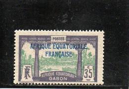 GABON 1924-7 ** - Unused Stamps