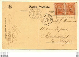 Flamme VII OLYMPIADE Anvers Antwerpen 1  (durée Selon Silverberg : 23 Jours ?) 1920 Obl 12 VIII 1920 Vers KINKEMPOIS - Targhette