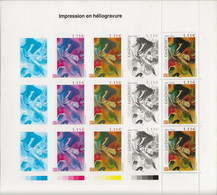 "France N°3585 Kandinsky : Feuillet Issu Du Livre ""Impressions Expressions"" - Sin Clasificación"
