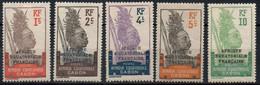 GABON 1924-7 * - Unused Stamps