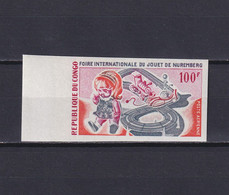 CONGO 1969, Mi# 178, Imperf, Toys, MNH - Collections