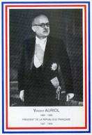 13X.....REVEL. Vincent  AURIOL. 1984 Centenaire - People