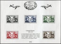 FRANCE 2016 - SALON DU TIMBRE -TRÉSORS DE LA PHILATÉLIE MNH ** COLONEL DRIANT 1855-1916 (Luxe) - Ongebruikt