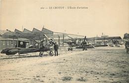 LE CROTOY ECOLE D'AVIATION - Le Crotoy