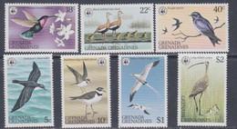 Grenadines N° 255 / 61 XX Oiseaux Des Iles, Les 7 Valeurs  Sans Charnière, TB - America (Other)