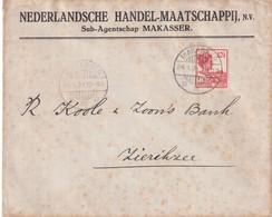 INDES NEERLANDAISES  1931 LETTRE DE MAKASSER - Indie Olandesi