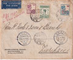 INDES NEERLANDAISES  1931 PLI AERIEN DE BANDOENG - Indie Olandesi
