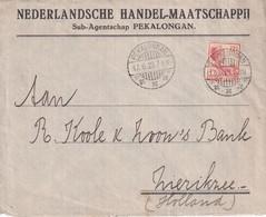 INDES NEERLANDAISES  1929 LETTRE DE PEKALONGAN - Indie Olandesi
