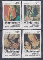 Grenadines N° 273 / 76 XX Noël, Les 4 Valeurs  Sans Charnière, TB - America (Other)