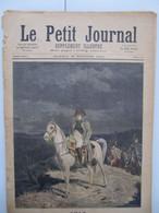 """28 Février 1891 """" Le Petit Journal """" N°14 : Napoléon 1814 Tableau Meissonier / Dahomey Jardin Acclimatation : Féticheur - 1850 - 1899"""