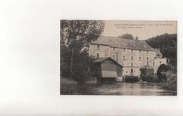 Montbazon..Le Grand Moulin,l'Indre En Aval...Voir Scan - Montbazon