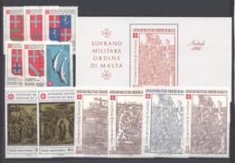 SMOM 1980 Annata Completa/Complete Year MNH/** VF - Malte (Ordre De)