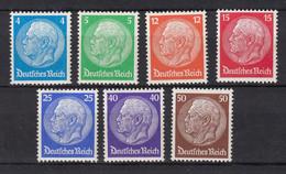 Deutsches Reich, Mi.467/473, *MH, 1932 - Ungebraucht