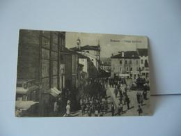 BASSANO ITALIA ITALIE PIAZZA GARIBALDI CPA 1917 - Viterbo