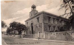 West India - Saint Thomas - Memorial Church  , Moravian - Unclassified