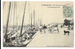 85-NOIRMOUTIER- Vue Générale Des Quais - Le Chargement Du Sel... 1906  Animé - Noirmoutier