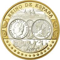 Espagne, Médaille, Euro, Europa, FDC, Argent - Otros