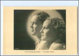 XX12598/ Brigitte Helm - Hans Brausewetter Ross Foto AK Ca.1938 - Entertainers