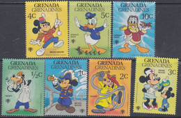 Grenadines N° 312 / 18 XX Partie De Série : Année De L'enfant Dessins Walt Disney Les 7 Valeurs  Sans Charnière, TB - America (Other)
