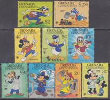 Grenadines N° 312 / 20 XX   : Année Internationale De L'enfant Dessins Walt Disney Les 9 Valeurs  Sans Charnière, TB - America (Other)