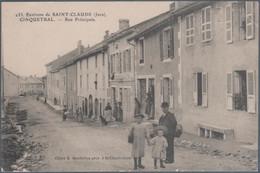 Cinquétral , Environs De Saint Claude , Rue Principale , Animée - Andere Gemeenten