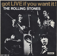 ANNÉE 1965 - VINYLE ORIGINAL 45 TOURS - THE ROLLING STONES - WE WANT THE STONES, EVERYBODY NEEDS SOMEBODY TO LOVE.. - Rock