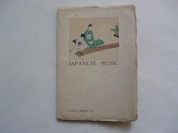 JAPANESE MUSIC By KASUMI SUNAGA 1936 - Cultural