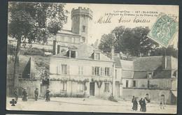N° 197 - St Aignan - Le Donjon Du Chateau Vu Du Champ De Foire  -  Ha  67 - Saint Aignan