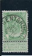 OCB 56 - Afstempeling GENTBRUGGE - COBA 8 - 1893-1900 Schmaler Bart