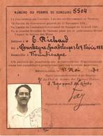SENEGAL . 1930 . PERMIS DE CONDUIRE . SAINT LOUIS - Documentos Históricos