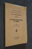 RARE,Casino,la Taxe Sur Les Jeux Et Paris,P.Lebrun 1949,complet 136 Pages,21 Cm. Sur 15 Cm. - België