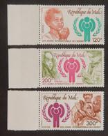 "MALI YT 323/325 NEUFS**MNH AVEC BDF ""ANNEE INTERNATIONALE DE L ENFANT"" ANNÉE 1979 - Mali (1959-...)"