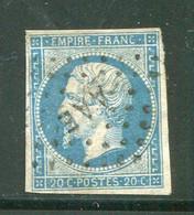 Y&T N°14B- Campagne D'Italie Contre L'Autriche- Armée Des Alpes- Bureau Mobile E (AAE) - 1853-1860 Napoleone III