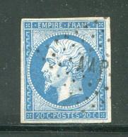 Y&T N°14A- Campagne D'Italie Contre L'Autriche- Armée Des Alpes- Bureau Mobile P (AAP) - 1853-1860 Napoleone III