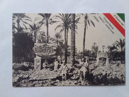 1911  LIBIA  TRIPOLI ANTICHE ROVINE - Libye
