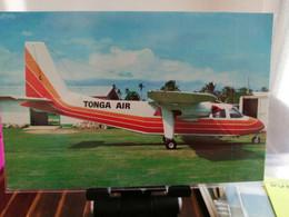 TONGA MATA AHO AIRPORT WITH AIR TONGA ISLANDER - Aerodromes