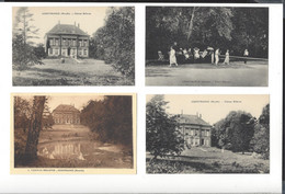 Guentrange ( Moselle )  Château Bellevue   Tennis  4 Cp - Other Municipalities