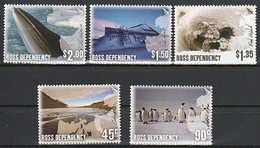 ANTARCTIQUE - ROSS 2005 Photographies - Yv. 100/104 ** - Unused Stamps