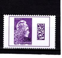 St Pierre & Miquelon--2020-- TVP ** Marianne L'Engagée INTERNATIONNAL - Unused Stamps