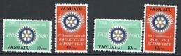 Vanuatu YT 609-612 Neuf Sans Charnière - XX - MNH - Vanuatu (1980-...)