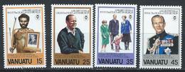 Vanuatu YT 624-627 Neuf Sans Charnière - XX - MNH - Vanuatu (1980-...)