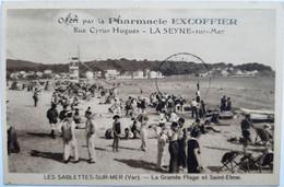 LES SABLETTES-SUR-MER (Var) - La Grande Plage Et Saint-Elme - Altri Comuni