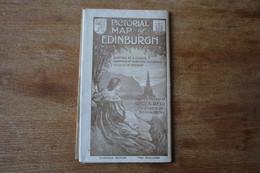Pictorial  Map Of EDINBURGH   Clarinda  Edition  Vers 1900 - Dépliants Touristiques