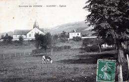 27  GIVERNY  (ENV DE VERNON)  EGLISE - Otros Municipios