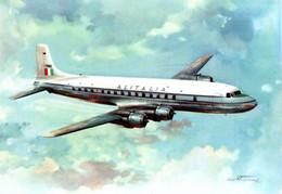 AK & CPM Douglas DC-6B - Alitalia - Unclassified
