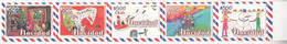 2018 Chile Navidad Christmas  Complete Strip Of 5 MNH - Chile
