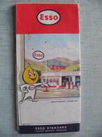 1959 Carte Routière Et Touristique De La France - Roadmaps