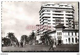 CPM Casablanca Boulevard Du 4eme Zouaves Association Des Anciens Combattants - Casablanca