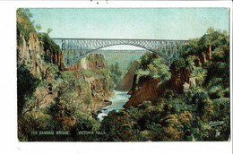 CPA Carte  Postale-Zambie The Zambesi Bridge Victoria Falls  VM30984 - Zambia