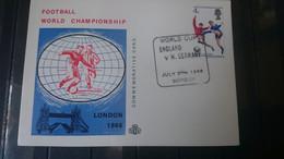 Soccer / Football / Fussball - WM 1966: UK SoKarte - Endspiel, Used - 1966 – England